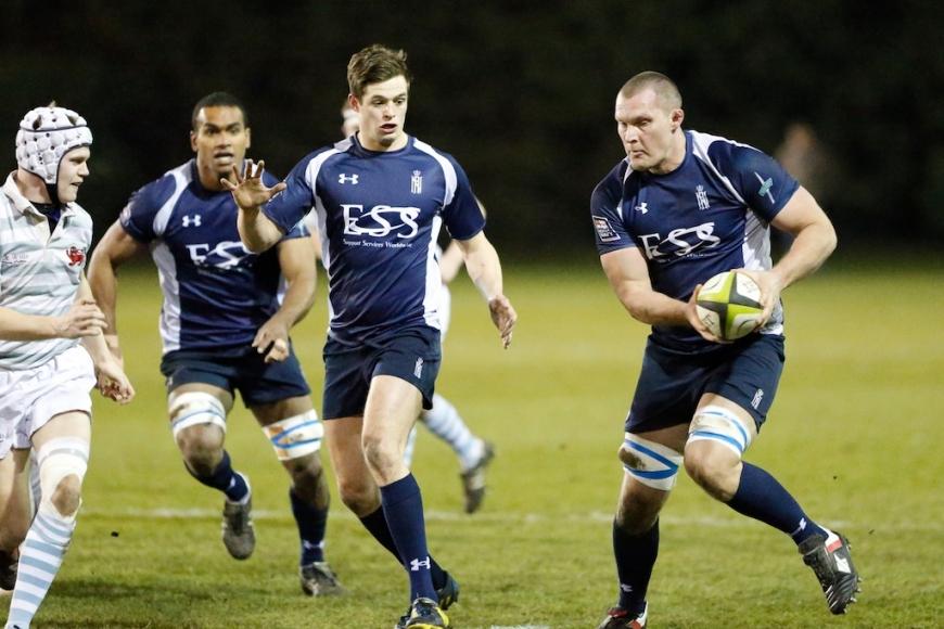 Sammy Davies Junior No More Royal Navy Rugby Union