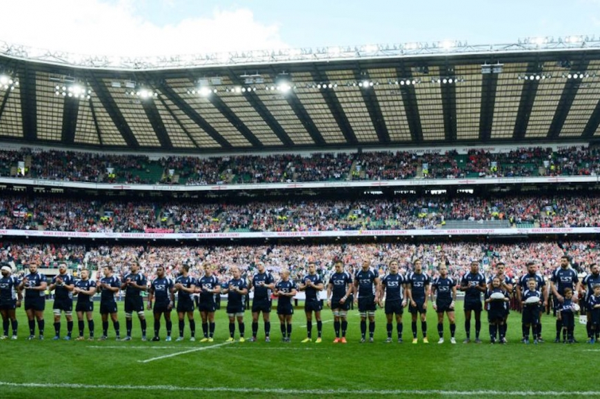 THE ROYAL NAVY RUGBY UNION 'FAMILY' REUNION - TWICKENHAM 2015