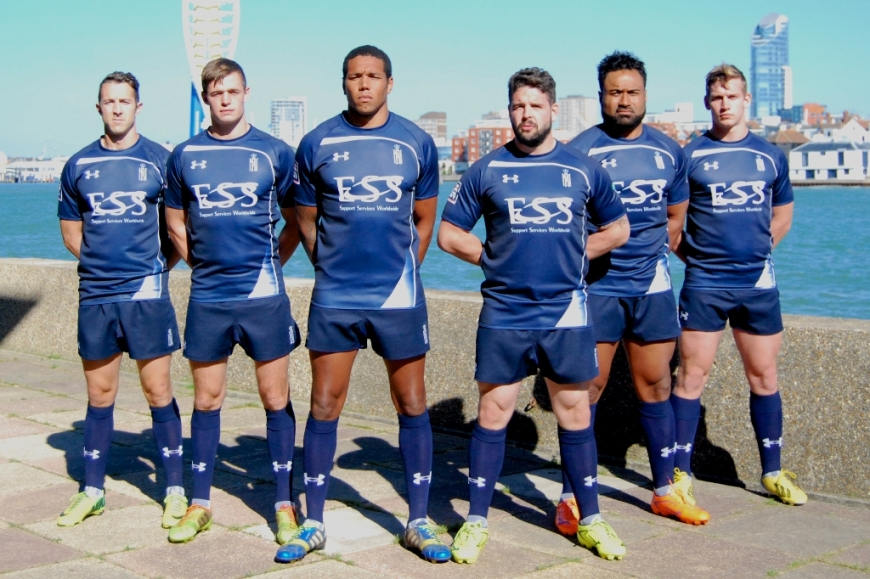 9c9f7a63810 Royal Navy Rugby Union Launch New Seasons UA Rugby Shirts : Royal ...
