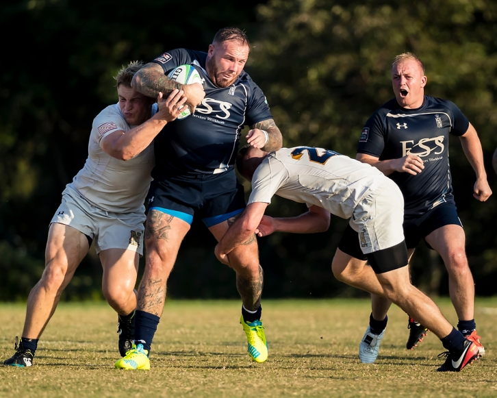 Great start to United States tour for the Royal Navy Rugby Union