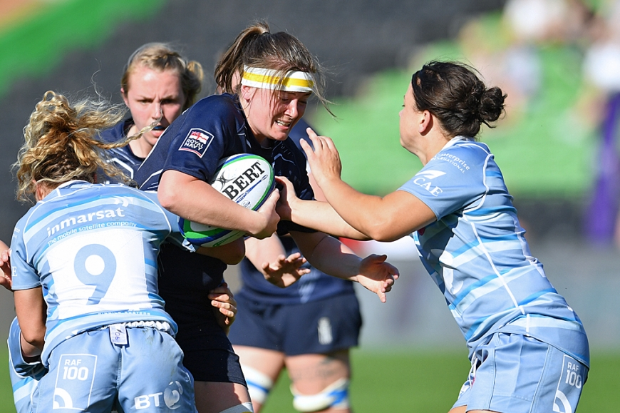 Royal Navy Rugby Women ready to help break a world record
