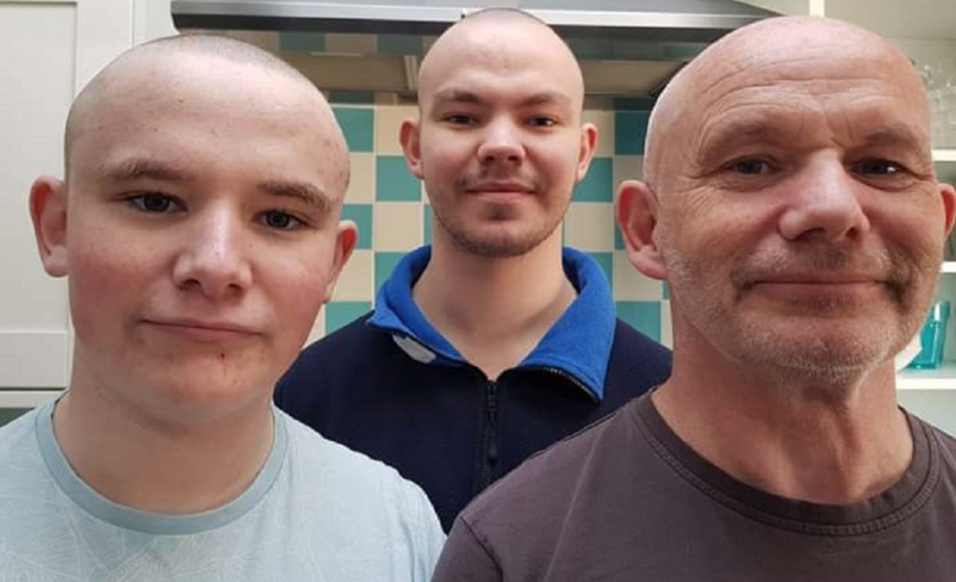 Devonport Services RFC Charity Head Shave