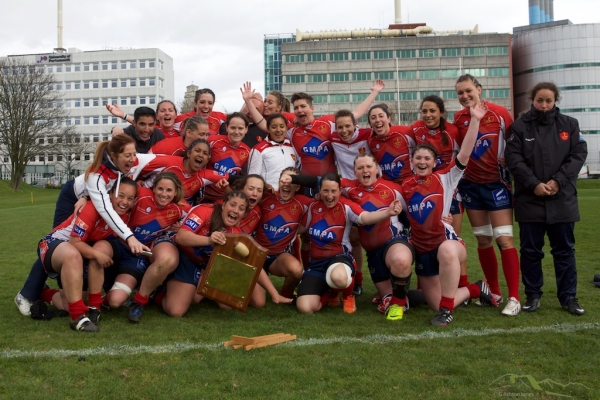 Marine Nationale (Feminines) Retain Trophy