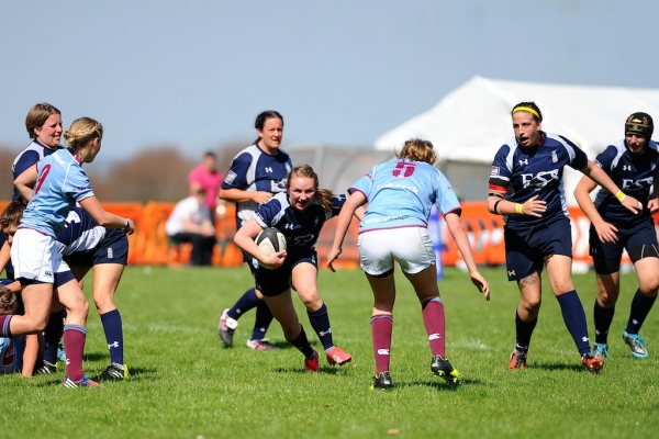 RAF Women Too Strong for Valiant Navy Side