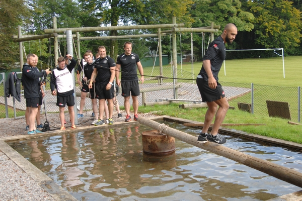 Exeter Chiefs Brave the Leadership Challenges at Britannia Royal Naval College