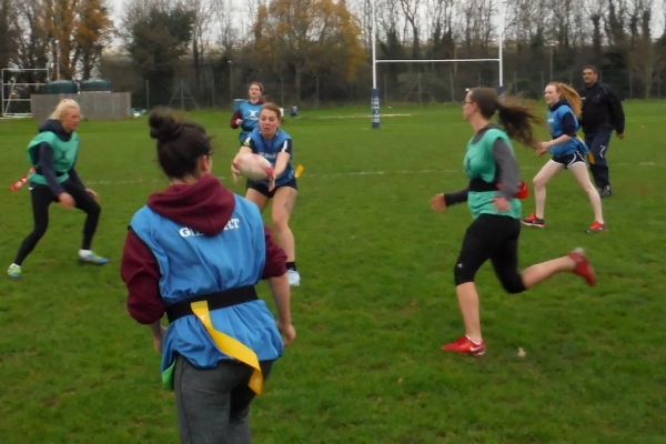 Curtain closes on 2015 Royal Navy womens rugby with an inspirational grass roots tag tournament