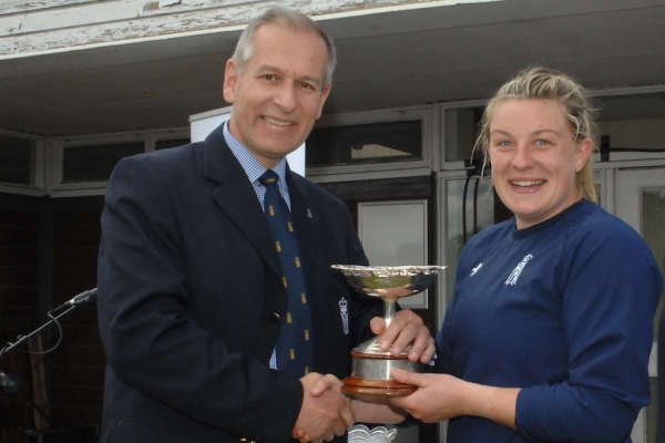 Pippa Hutchinson Wins Roger Sherratt Memorial Trophy