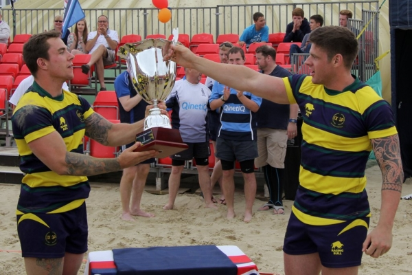 A Welcome Return to Weymouth for Royal Navy Beach Rugby