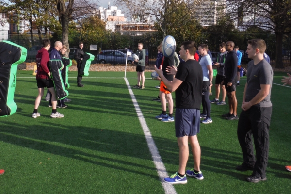 Growing the game through Grass Roots Training Sessions
