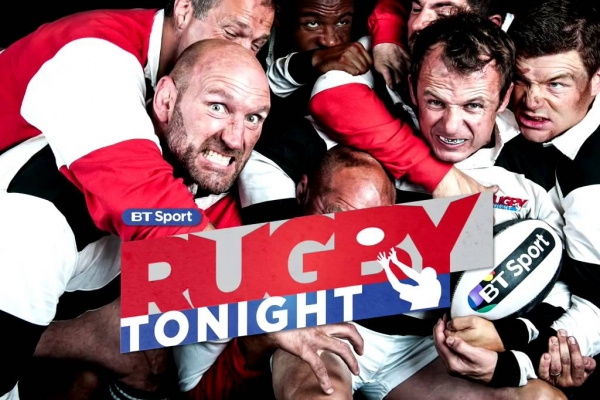BT Sport Host Royal Navy Rugby Union on Rugby Tonight Programme