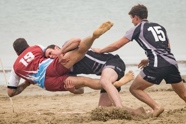 """It's a Ruck, Not a Beach, Don't Just Lie There!"""