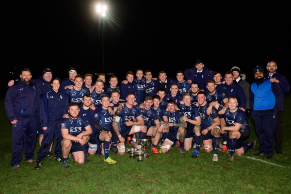 Record breaking Royal Navy retain U23 Title