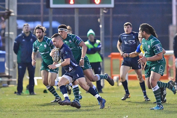 A hard test for the Senior XV at London Irish