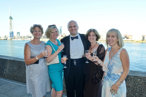 Navy Blue and Marine Green combine to make Sapphire at RNRU Annual Dinner