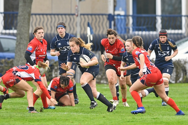 French forwards frustrate Navy Rugby Women