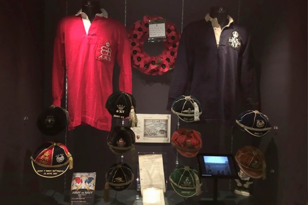 Centenary Cap Given Home At Twickenham