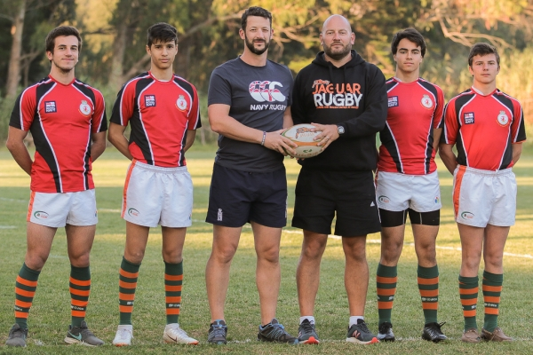 Royal Navy Rugby Union reaches out to support Lisbon