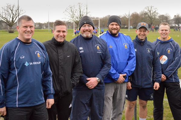 Navy Rugby's Extended Family at Gosport and Fareham RFC