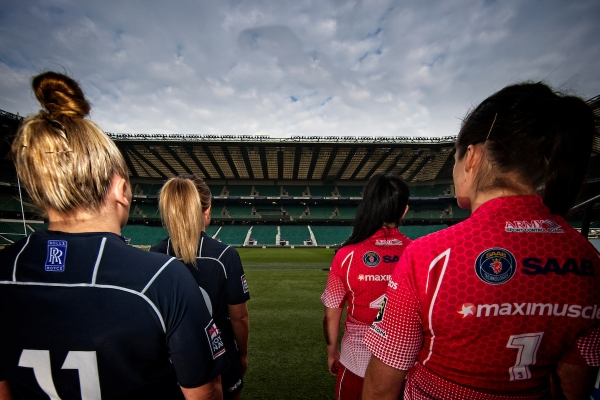 100 Years Of The Inter Service Rugby Championship Concludes With Service Women's Rugby Twickenham Stadium Debut.
