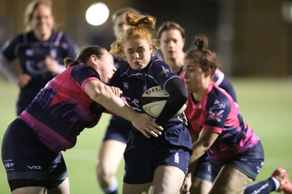 Try of the Night Not Enough for Royal Navy Women
