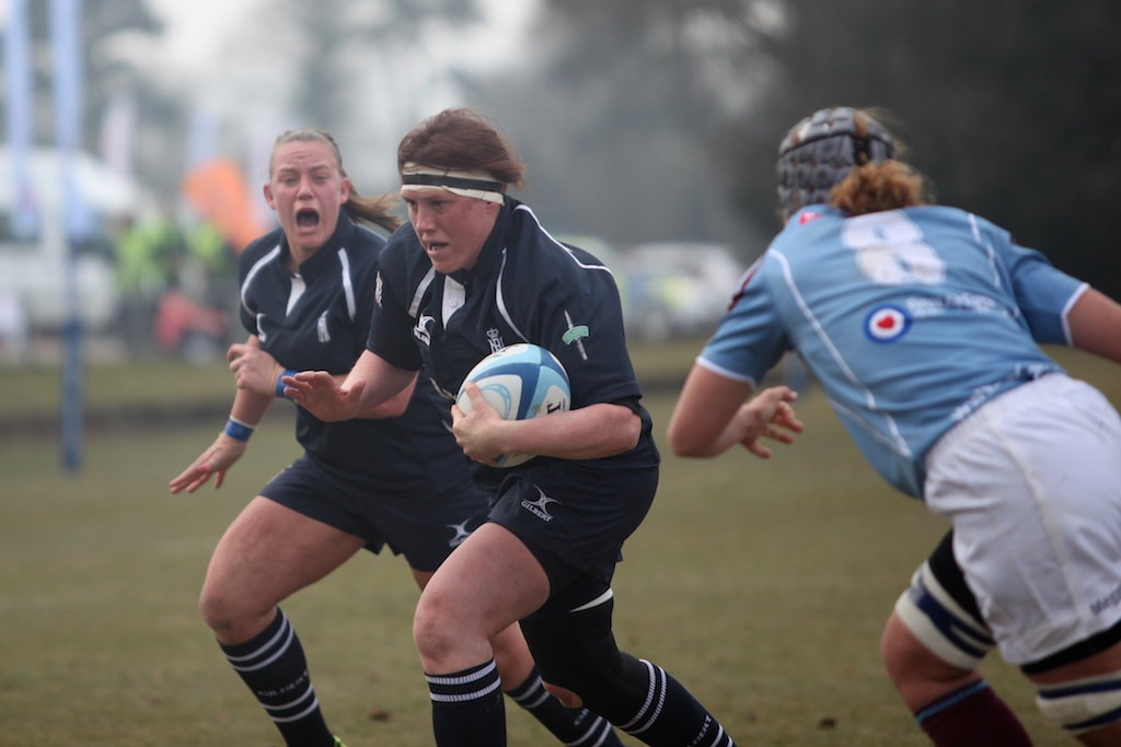Paula Bennett-Smith has been a driving force behind women's rugby since the start.  Last season she was able to make a come back with the side and win her long over due 'cap'