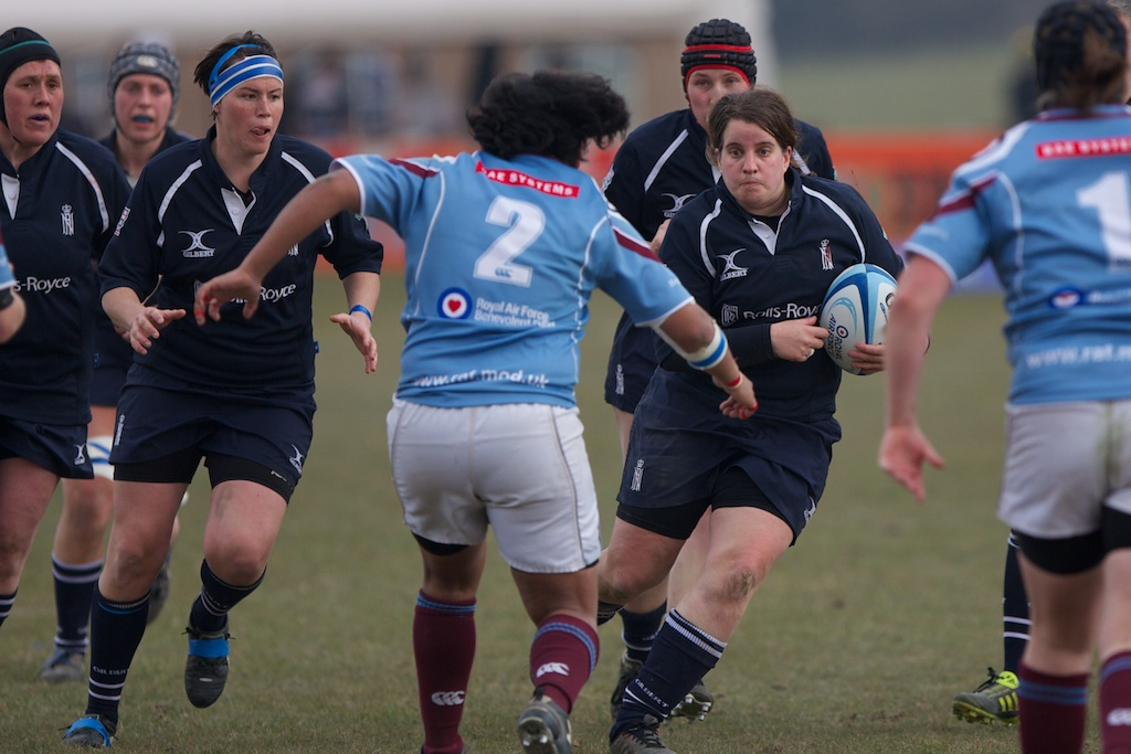 Peanut Park is supported by Caroline Penrose, both will need to play to the best of their ability in what is always a tight contest against the RAF Women