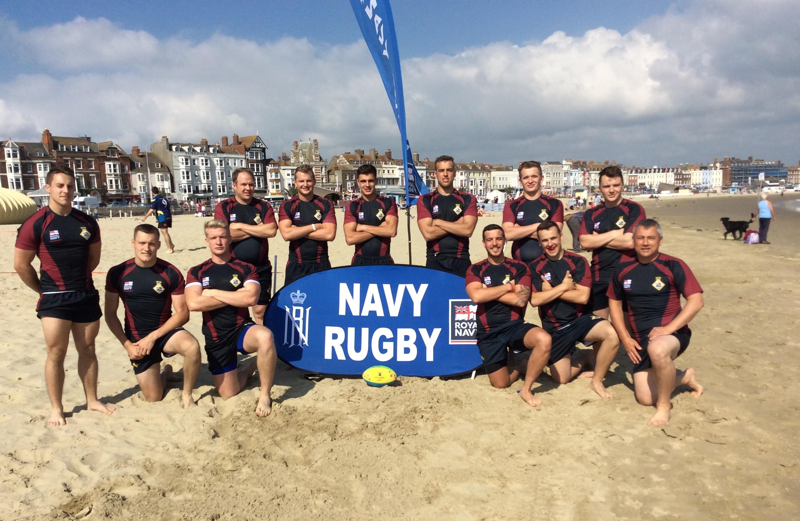 HMS SULTAN - Beach rugby festival